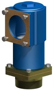 RIS-FLANGE4-TEE-R ASSEMBLY